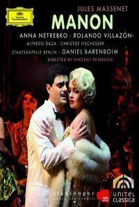 Cover Anna Netrebko / Rolando Villazón / Alfredo Daza / Christof Fischesser - Manon [DVD]